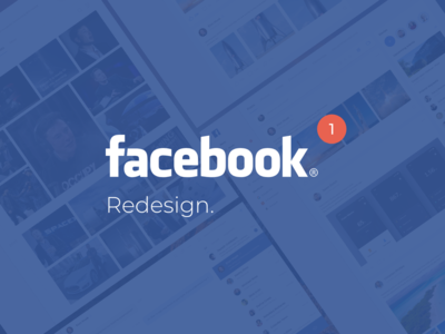 [Free] Facebook redesign UI kit social media news feed chats profile social networks network social social network ui kit web facebook kit concept ux ui