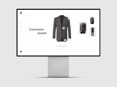 Product Page Interactions – Amazon Concept clothes shop clothes shop motion interaction design interface animation concept amazon ecommerce product good web ux ui