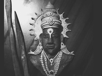God vitthal clay illustration