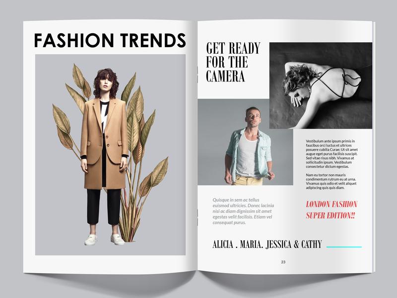 FASHION branding web design illustration proactive art