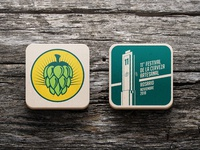 11º Craft Beer Festival coasters