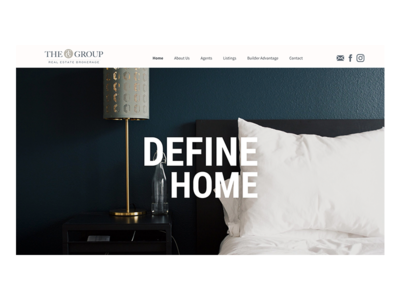 The Group Real Estate Web Design