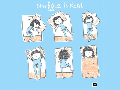 Bedtime moves character design illustrator dribbble creative clean yoga character illustration art cartoon design