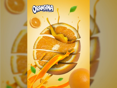"Advertisement ""Orangina"""