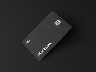 IB Plan Card Exploration exploration identity platinum gold black icon 3d blender credit card branding