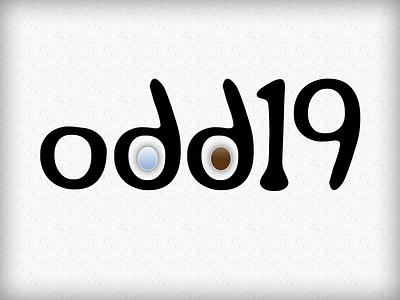 Odd19 Logo logo typography design