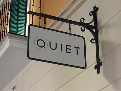 Quiet Tea Shop united kingdom london branding logo shop tea quiet dweet design