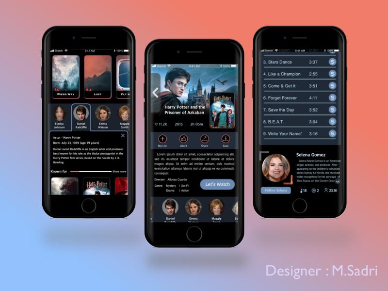 Dark IPTV app by MohammadReza (Masih) Sadri | Dribbble