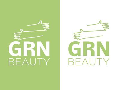 Plant Based Beauty Logo Concept Exploration outline hands leaf packaging branding logodesign concept logo plantbased green earth clean products organic beauty logo wellness logo beauty plant
