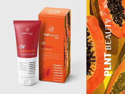 Ingredient Focus CBD Skincare Packaging Concept concepts bottle design wellness logo cbd packaging cbdoil cbd bottle beauty branding