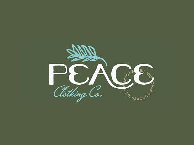 Peace Logo Concept (Rejected) illustrator illustration logo mark rejected logo rejected reject brand identity brand design brand clothing branding logo