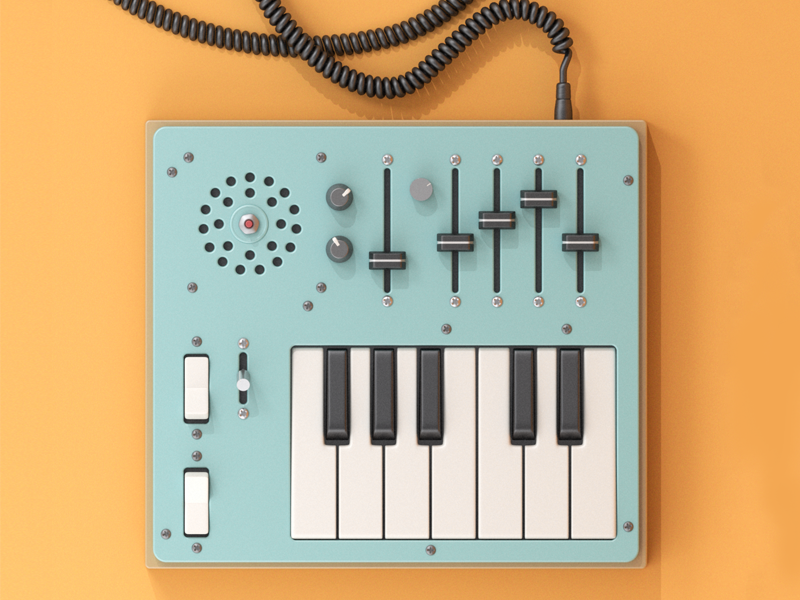 DIY Circuit Bent Lo-Fi Workstation by Eric Smilde on Dribbble