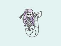 Skull Mermaid