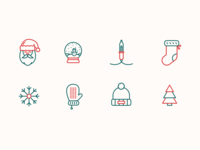 Holiday Icons Set 1