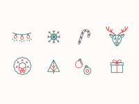 Holiday Icons Set 2