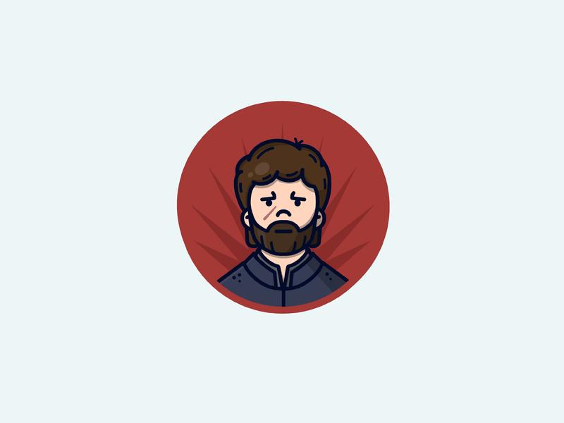 Tyrion Lannister design illustration procreate character lannister tyrion lannister tyrion man got game of thrones