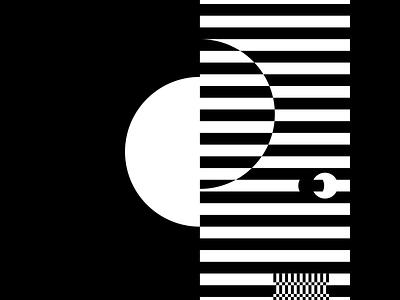 Black and White Illusions First Draft design flat minimal clean illustrator wip ux illusion vector illustration