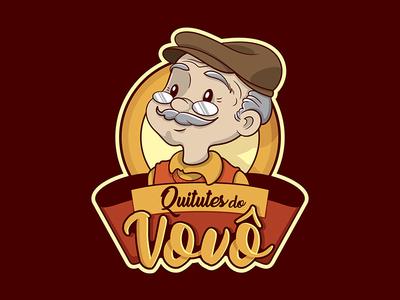 Quitutes do Vovô logotipo