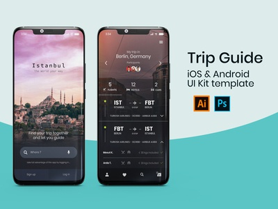 Project 1 Trip Guide Application