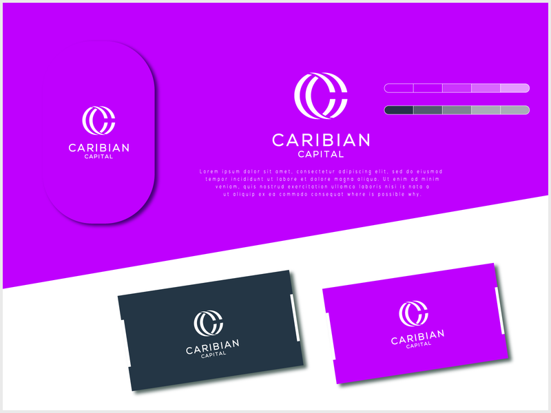 Caribian Capital logo trending logobucket designer illustration design vector logodesign logoinspiration 99designs behance branding