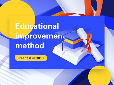 Educational operation design education ux image illustration icon design ui illustrations