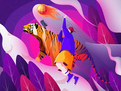 新年加油鸭 design image illustrations