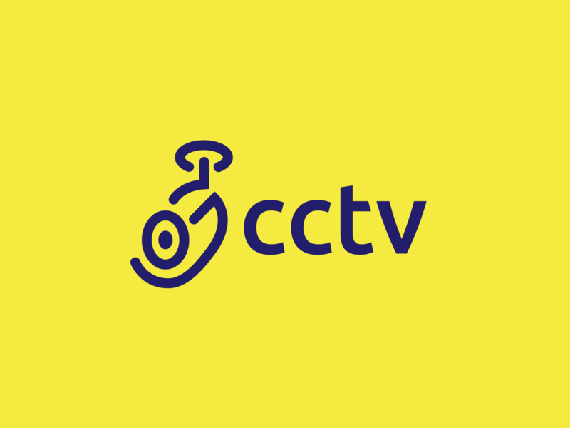 CCTV Logo Design logodesign branding illustration logo design