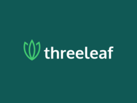 Threeleaf Logo Design logogrid design logo illustration branding