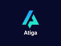 Atiga Logo Design branding logogrid logodesign logo illustration design