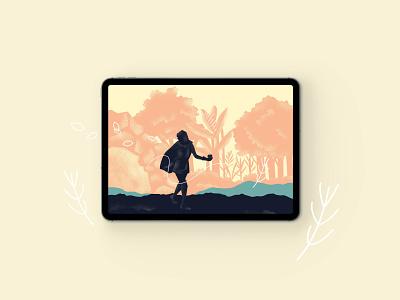 Tales illustrator minimal animation design branding illustration app