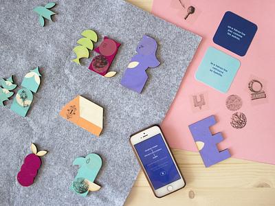 The Story Box app branding illustration design