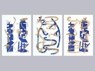 Risoprint riso print risography risoprint riso risograph illustration design