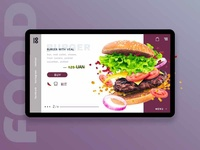 Оrder page for burgers