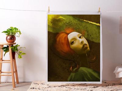 Artwork - Odessa portrait photoshop art digital art