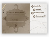 Experimental packaging for Tees4Bees packaging package design graphic deisgn design