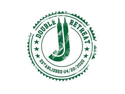 Retro Logo retro jj retreat logo retro font retro design retro logo