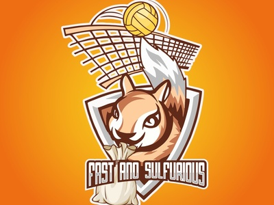 Squirrel Mascot Logo