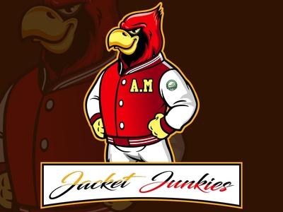 Cardinal Mascot Logo