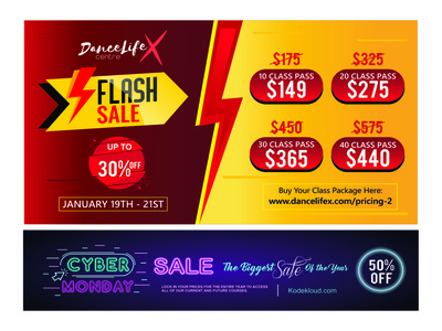 Flash Sale and Cyber Monday Banner social media marketing social media templates social media design social media pack social media posts cyber monday sale banner social media banner banner ads banner design banner ad banners flash sale banner cyber monday banner cyber monday flash banner banner