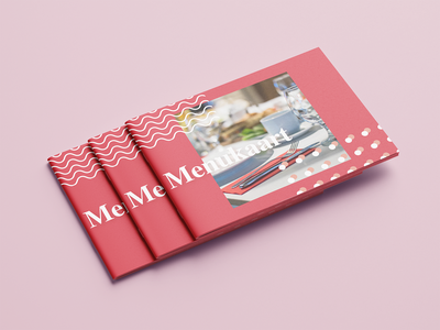 Modern menu brand 2d branding concept modern restaurant food menu card graphic design design
