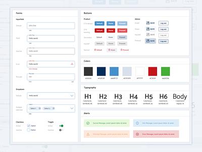 Design System branding components design system application design design sketch website interface design webdesign user experience interaction design