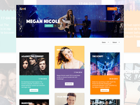 Event webshop