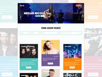Event Webshop update