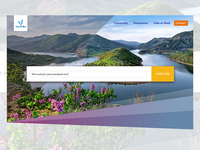 Header Travel Website