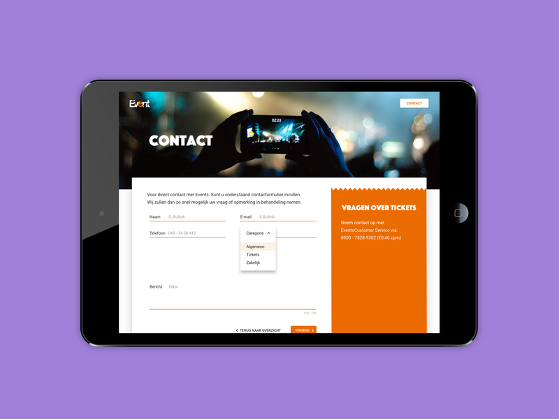 Events Contactform user friendly question contactpage user mobile sketch ui responsive design website interface design graphic design webdesign user experience interaction design