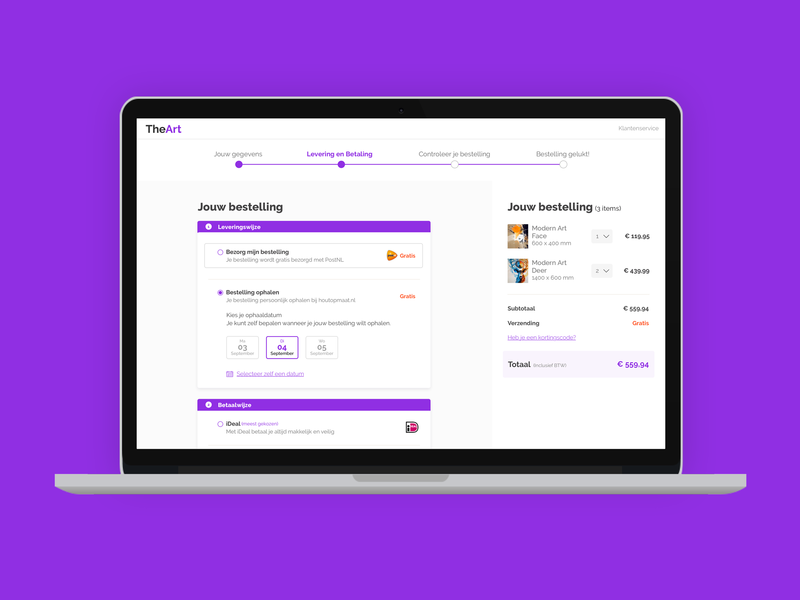Check-out process user friendly easy purple checkout form flatten design trend 2019 2020 concept webshop website sketch webdesign user experience interaction design clean checkout page checkout