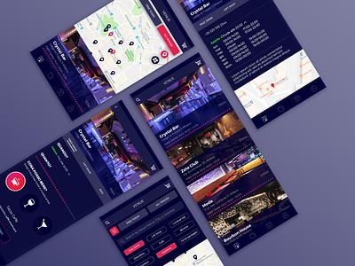 OpenBar App digital ux design ui design app