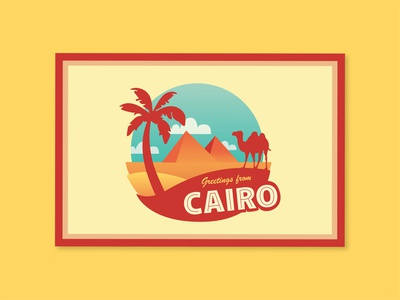 Cairo Postcard - #31 Weekly Warmup