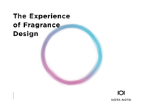 The Experience of Fragrance Design