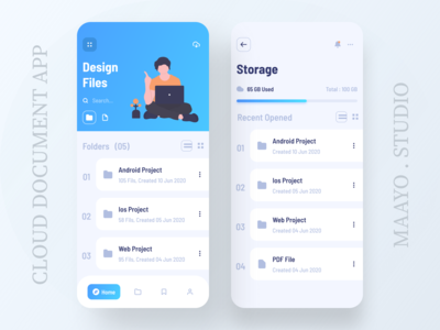 Cloud Document App
